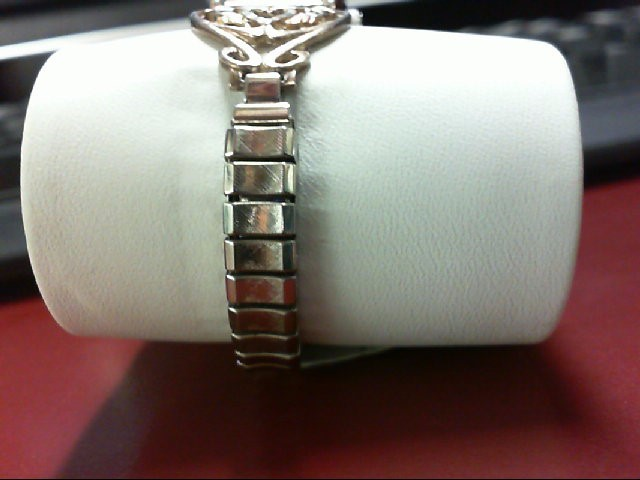 Black Hills Gold Lady's Wristwatch 7in Diamond Quartz
