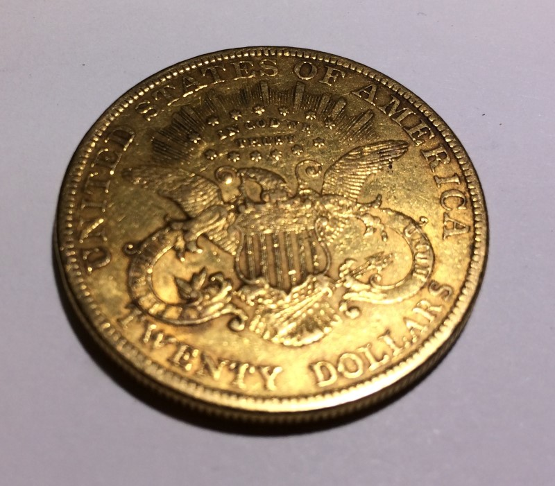 1899 $20.00 Liberty Head Gold Double Eagle *No Mint Mark*