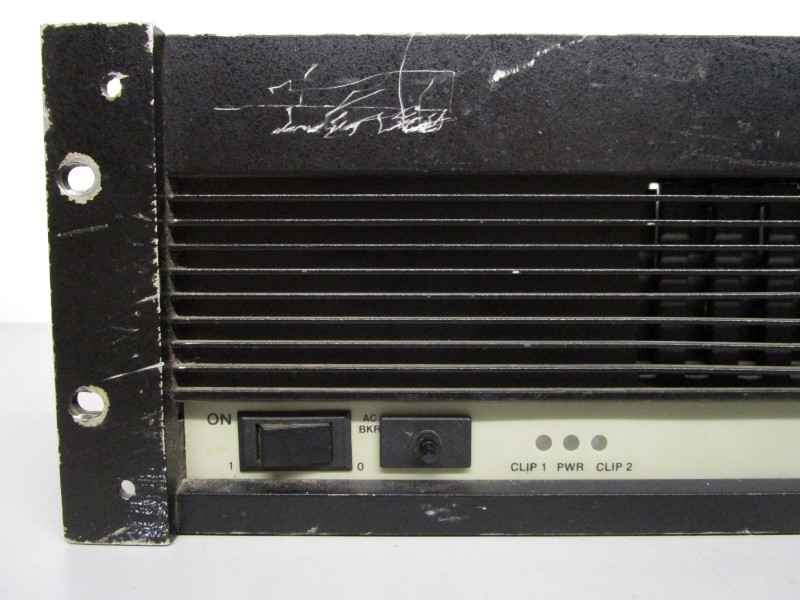 qsc audio model 1400 stereo power amplifier for parts or repair for parts or not working. Black Bedroom Furniture Sets. Home Design Ideas
