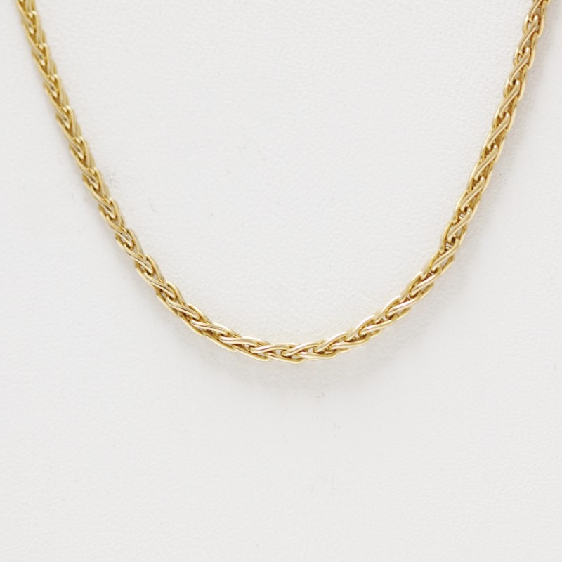 "24"" Gold Rope Chain 14K Yellow Gold 7.4g"
