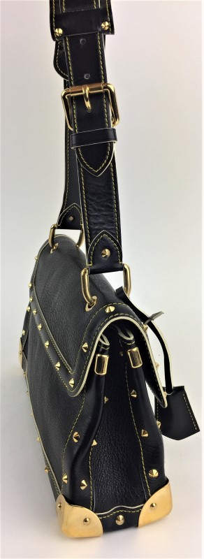 LOUIS VUITTON SUHALI LE TALENTUEUX BAG BLACK
