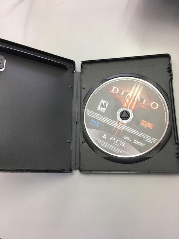 Sony PlayStation 3 PS3 Game DIABLO III