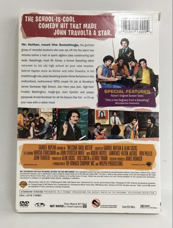 DVD BOX SET WELCOME BACK KOTTER SEASON 1