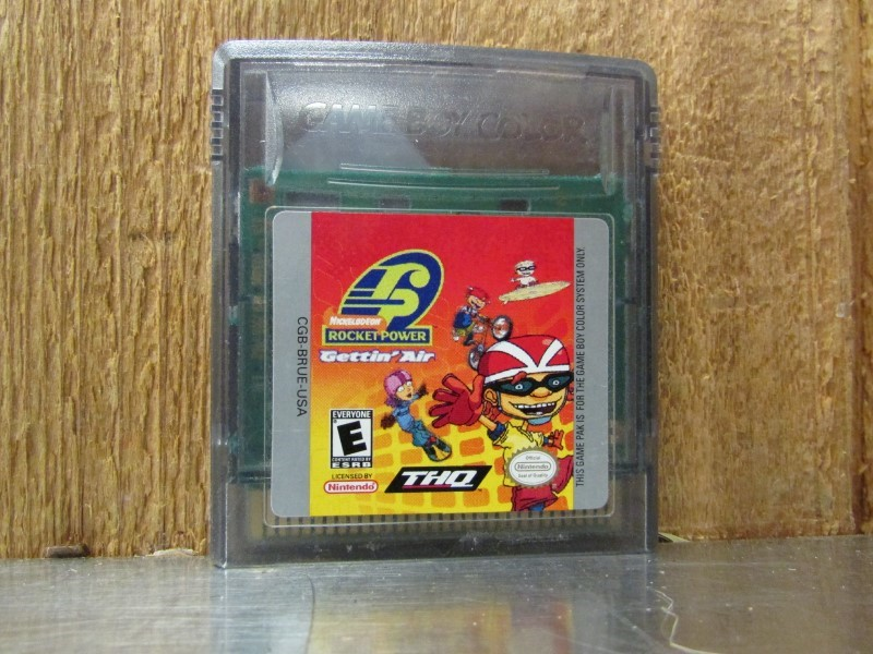 NINTENDO Vintage Game ROCKET POWER GETTIN AIR - GAME BOY COLOR
