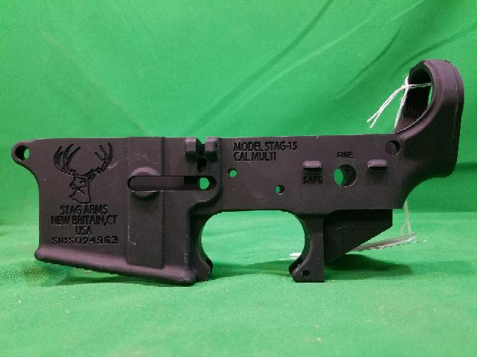 Stag Arms Stag-15 Stripped AR Lower Receiver