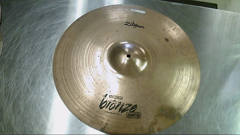 "ZILDJIAN Cymbal SCIMITAR BRONZE ROCK RIDE 20"""
