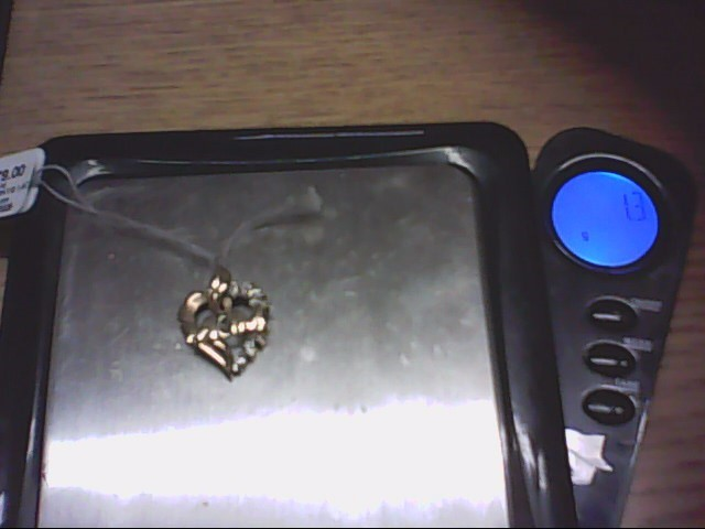 Gold Charm 10K Yellow Gold 1.3g