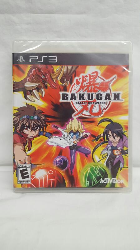 Sony PlayStation 3 Game BAKUGAN BATTLE BRAWLERS. Still in original shrink wrap.