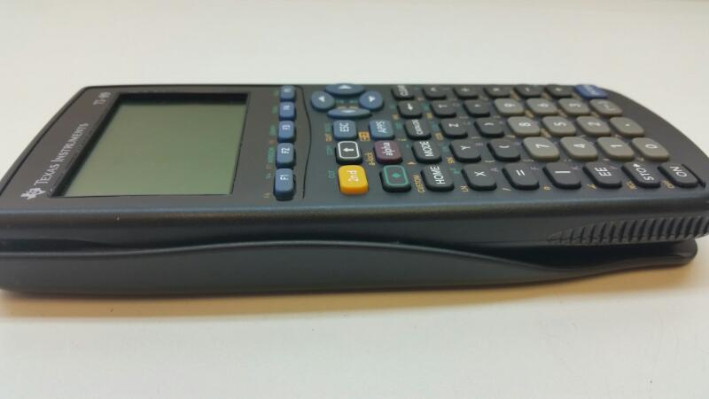 TEXAS INSTRUMENTS TI-89 GRAPHING CALCULATOR]