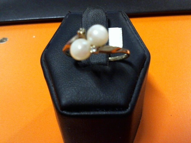 PEARL LDS 10K RING