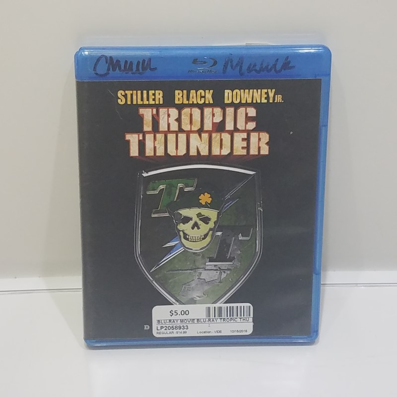 BLU-RAY MOVIE Blu-Ray TROPIC THUNDER