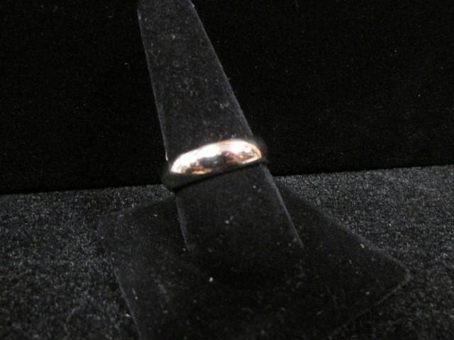 Gent's Gold Ring 10K White Gold 8g