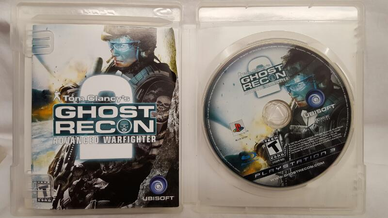 Sony PlayStation 3 Game GHOST RECON ADVANCED WARFIGHTER 2