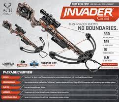 WICKED RIDGE CROSS BOW Crossbow INVADER G3