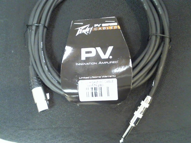 PEAVEY Cable PV 20FT HI Z MIC CABLE