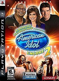 SONY Sony PlayStation 3 Game AMERICAN IDOL ENCORE 2