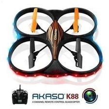 AKASO DRONE 6-AXIS QUADCODTER MODEL K88