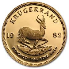 SOUTH AFRICA 1982 KRUGERRAND 1 OZ FINE GOLD