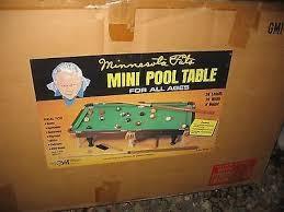 MINNESOTA FATS MINI POOL TABLE NEW Brand New Buya - Minnesota fats mini pool table