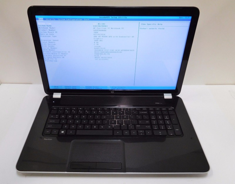 HEWLETT PACKARD PC Laptop/Netbook 17-E118DX