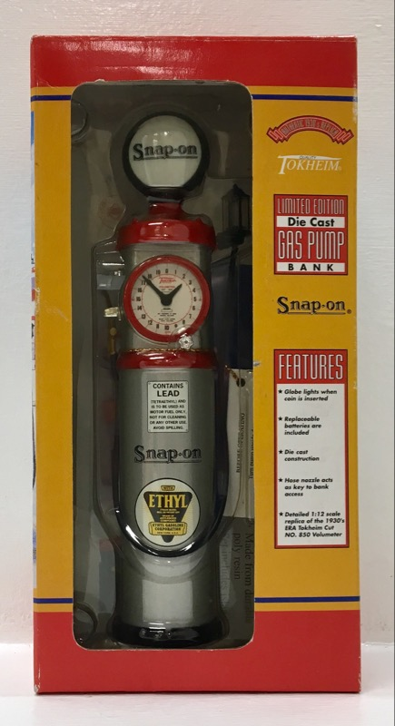 NEW Snap-On Limited Edition 1:12 Diecast 1930's Tokheim Gas
