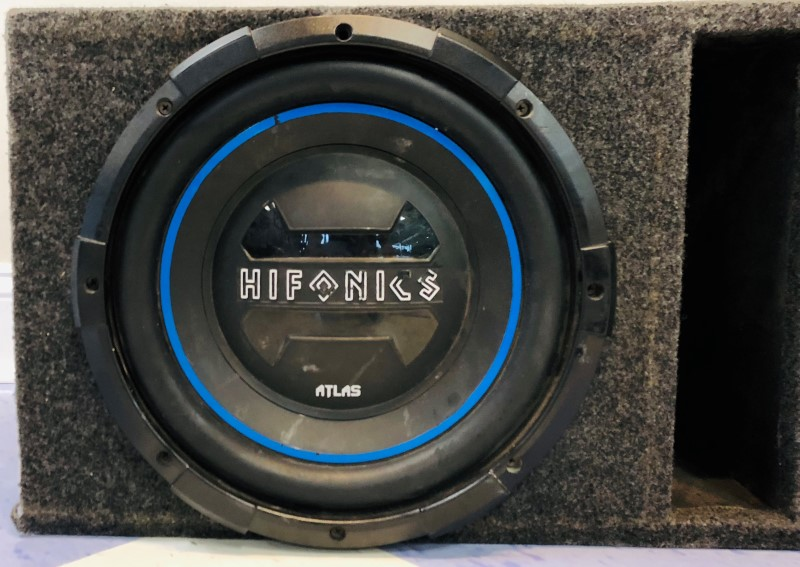HIFONICS Speakers/Subwoofer 12