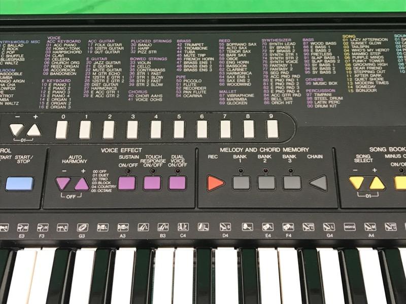 Yamaha Portatone Electronic Keyboard Synthesizer Psr