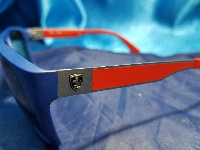 39934dd2e4 ... Ray Ban Scuderia Ferrari Collection RB4309M Red Blue Frame 60 mm ...