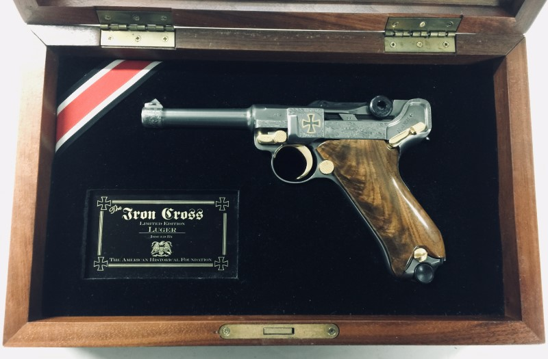 "LUGER P08 ""THE IRON CROSS"" 1 OF 500"