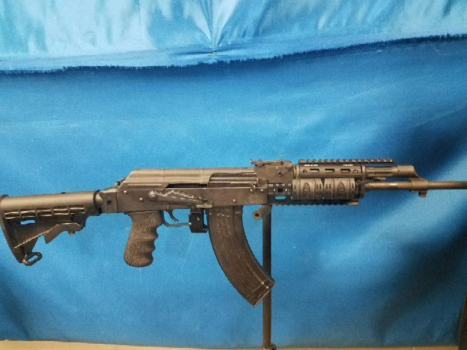 Romanian GP-WASR 10/63 7 62x39 Rifle With Flashlight And Red Laser