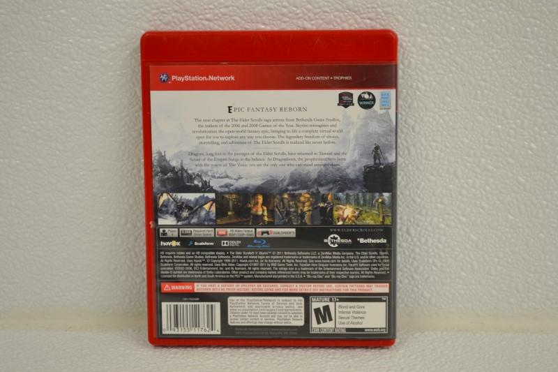 SONY PlayStation 3 Game ELDER SCROLLS V: SKYRIM - PS3 Good | First