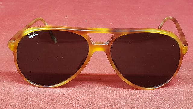 3ad878b4f7 Vintage Ray-Ban B L AL 1569 Turtoise Aviator Sunglasses Good ...