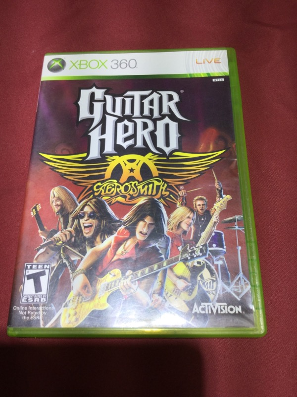 GUITAR HERO AEROSMITH XBOX 360 Good | Carson Jewelry & Loan
