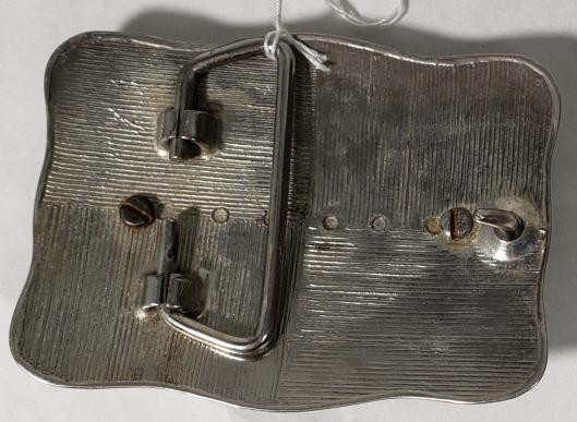 US 1922-S Silver Peace Dollar Belt Buckle Very Good | Heartland