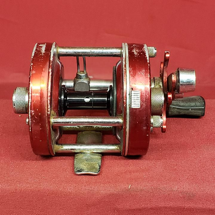 vintage red ambassadeur 6000