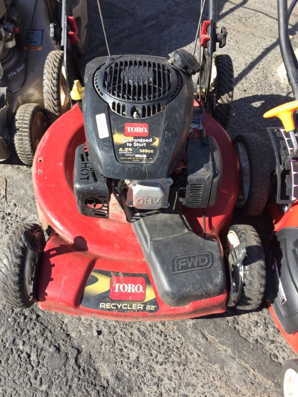 Toro Lawn Mower 22 Quot Recycler Self Propelled Easy