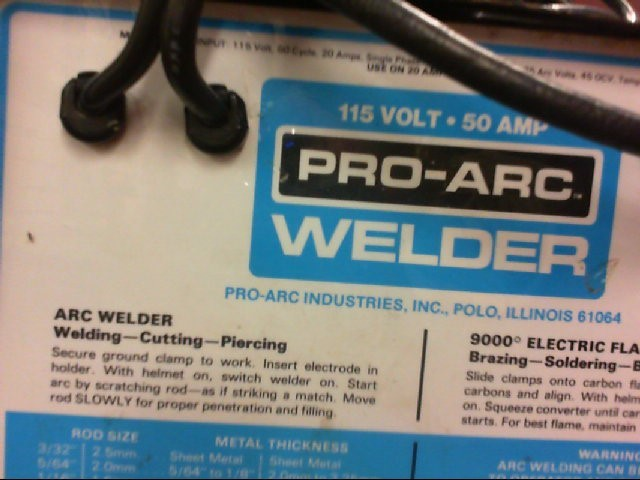 PRO ARC Arc Welder 1050 Good | Carson Jewelry & Loan