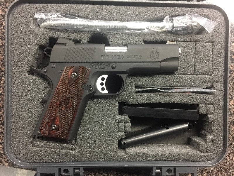 SPRINGFIELD 1911 RANGE OFFICER COMPACT