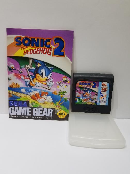 Sonic The Hedgehog 2 Sega Game Gear With Clear Case Manual Very Good Liberty Pawn Gold Fredericksburg Va