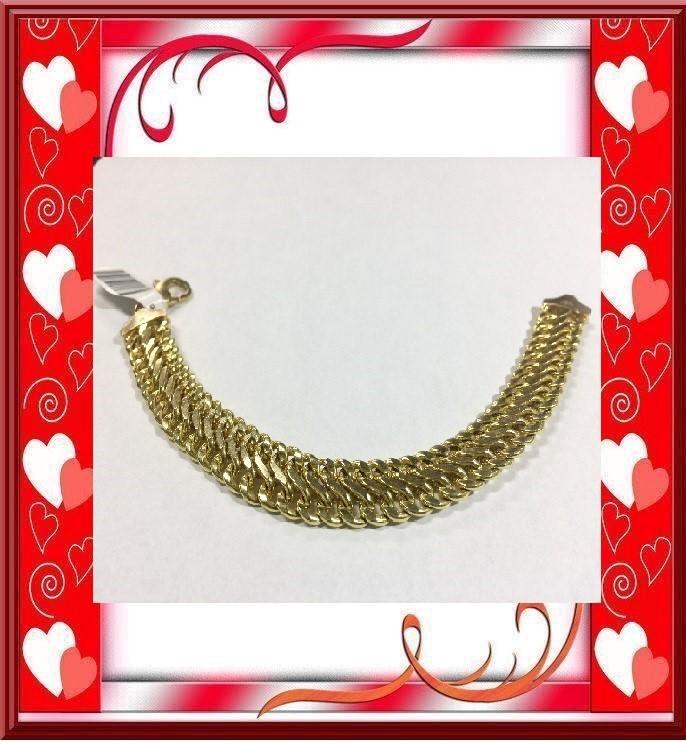 Gold Bracelet 10K Yellow Gold 17.54dwt