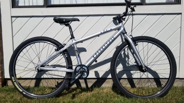 23db820c3f6 CANNONDALE BICYCLES 1FG Mountain Bicycle Like New   Liberty Pawn ...