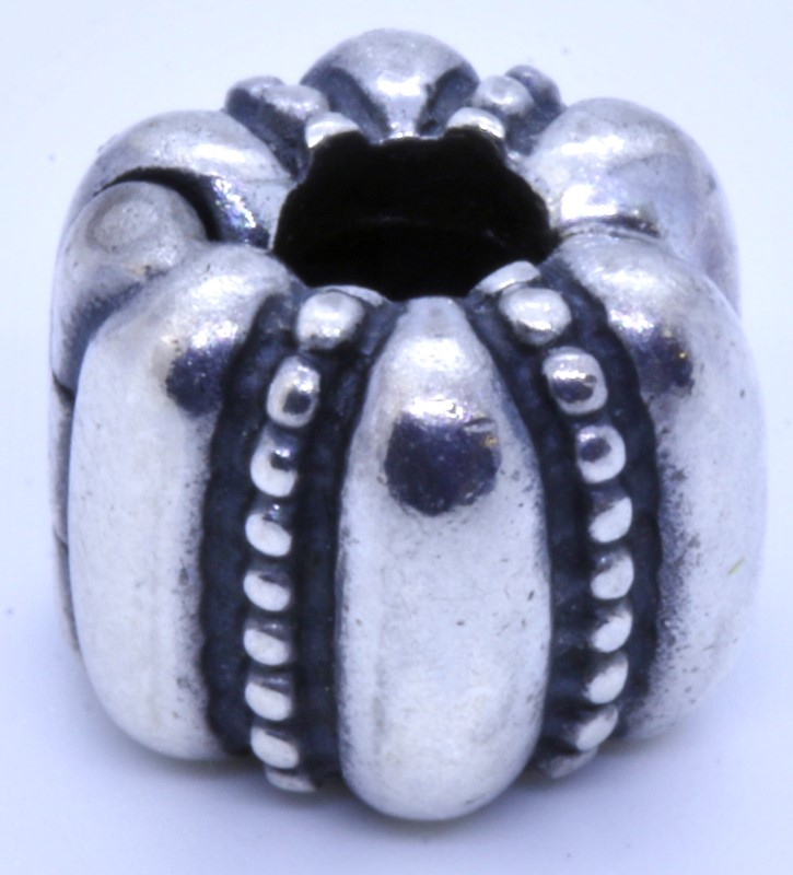 c65c8ff4e Authentic Pandora 925 ALE Sterling Silver Crazy Clip Bead Charm 790446