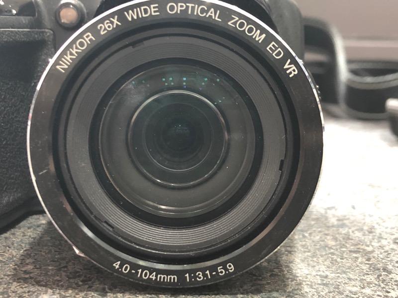 nikon digial camera coolpix l810 with manual and cd very good rh battleborngems com Nikon Coolpix Digital Camera Manual Nikon Coolpix 16 MP Digital Camera