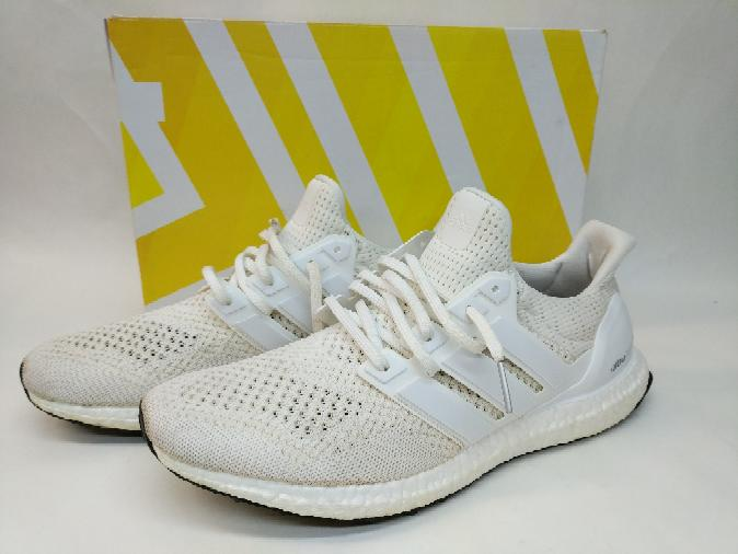 8949c1223e4ef Adidas Ultra Boost 1.0 Triple White Size 12 S77416 Shoes Very Good ...