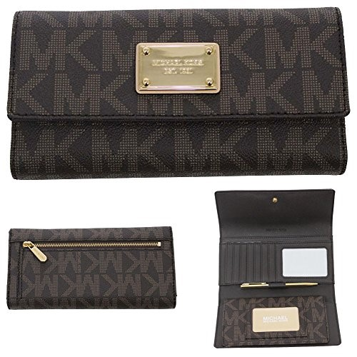 736655e61ad276 MICHAEL KORS 32F1GJSE4B JET SET CHECKBOOK WALLET | Heartland Pawnbrokers