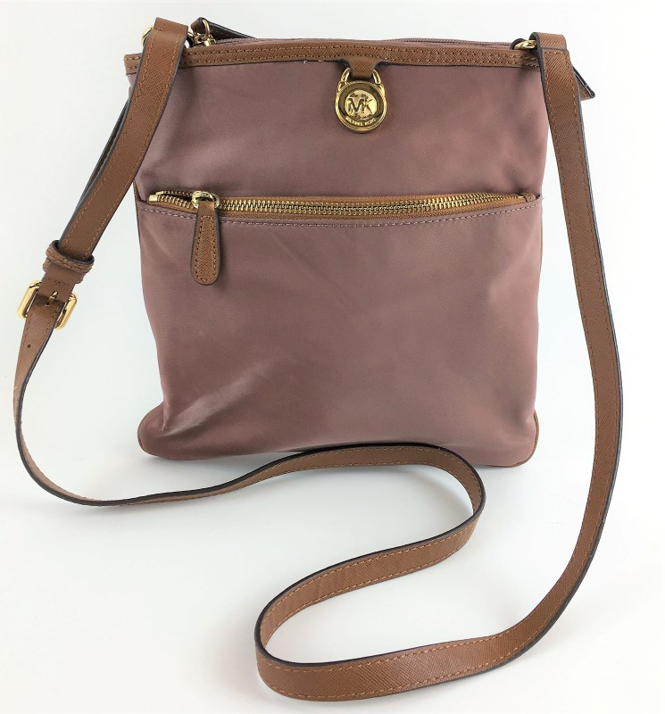 26edbab9a749 MICHAEL KORS KEMPTON LARGE NYLON CROSSBODY