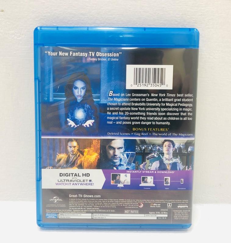 The Magicians Season 1 (Blu-Ray 3-Disc Set) Very Good