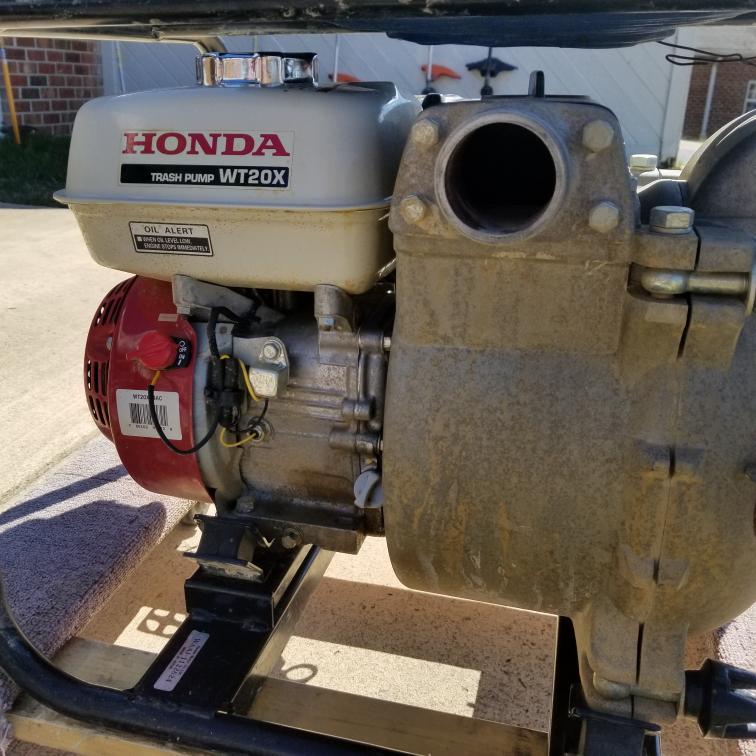 Honda WT20XK4AC Self-Priming Construction Trash Water Pump 11,100