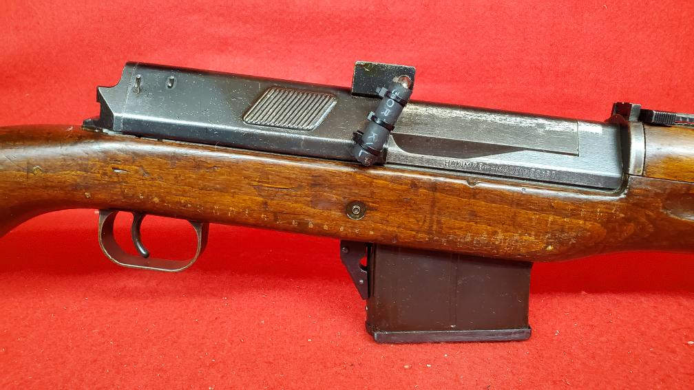 C A I  Egyptian Hakim 8mm Mauser Military Semi-Auto Rifle Like New
