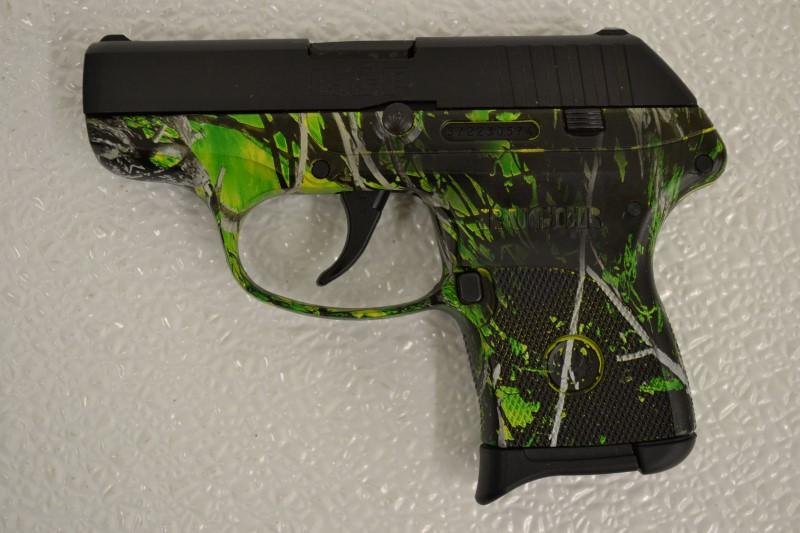 RUGER LCP 3769 Toxic Camo (380 ACP) 1-6 Round Magazine & Pocket